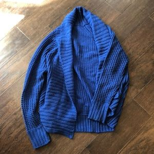 Whisper Royal blue chunky cardigan
